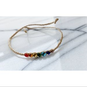 NWOT HANDMADE IN NANTUCKET Beaded Anklet/Bracelet